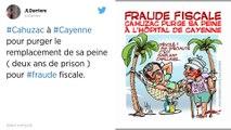 Jérôme Cahuzac. Embauché pour un mois en Guyane, il fait le buzz sur les réseaux sociaux.
