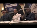 Full James DeGale v Marco Antonio Periban Press Conference