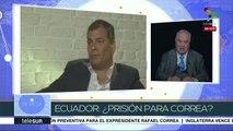 Ochoa: Captura y extradición de Correa sería violatoria del DI