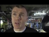 Jim McDonnell Talks About James DeGale, Marco Antonio Periban, Carl Froch & George Groves