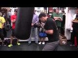 RUSLAN PROVODNIOV POWER PUCHING HEAVYBAG - Ruslan Provodnikov workout vs Lucas Matthysse