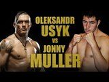 Oleksandr Usyk V Johnny Muller LIVE & EXCLUSIVE on YouTube.com/BoxingUA