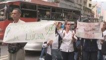 Trabajadores de la salud pública cumplen 10 días de protestas en Venezuela