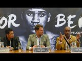 Eddie Hearn & Nigel Benn ANNOUNCE SIGNING of Conner Benn to Machroom Boxing!