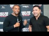 Oscar De La Hoya: Amir Khan vs Canelo Alvarez SIZE DOESN'T MATTER but Canelo TOO SMALL vs GGG!?