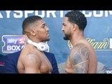 Anthony Joshua vs Dominic Breazeale FACE OFF