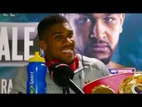 Anthony Joshua vs Dominic Breazeale - POST FIGHT PRESS CONFERENCE