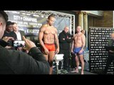 Anthony Yarde looks ripped as ever on weight!