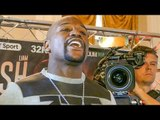 Floyd Mayweather CLOWNS & CONFRONTATION with Walsh Brothers! MUST BE SEPARATED!!!