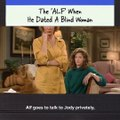 Remember the 'ALF' when he dated a blind woman? It was a very special episode.