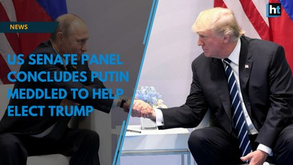 US senate panel concludes Putin meddled to help elect Trump
