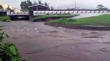 ALERT  DIEGO RIVER FULLThis video of the Diego Martin river was taken at 5 45 pm today  The river is on the verge of overflowing its bank  Anyone living near
