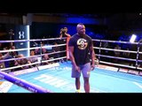 Dillian Whyte Full Media Workout Ahead of his Heavyweight Clash with Robert Helenius