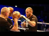 Robert Helenius Full Workout Ahead of Facing Dillian Whyte In The Ring This Saturday