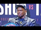 Dillian Whyte POST FIGHT PRESS CONFERENCE | After Defeating Robert Helenius