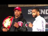 Errol Spence vs Lamont Peterson FACE OFF