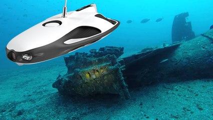 DRONE SOUS MARIN : ON A TROUVÉ UNE ÉPAVE DE 500 ANS SOUS L'OCEAN !