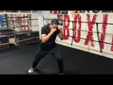 Josesito Lopez WORKOUT vs Hector Muoñz