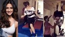 Disha Patani फिल्म 'भारत' के लिए ऐसे कर रहीं हैं Training, देखें Fitness Video | Boldsky