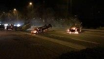 Malakoff: feu à la maison des haubans cette nuit