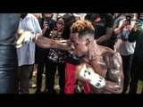 Jermell Charlo FULL WORKOUT! vs Austin Trout