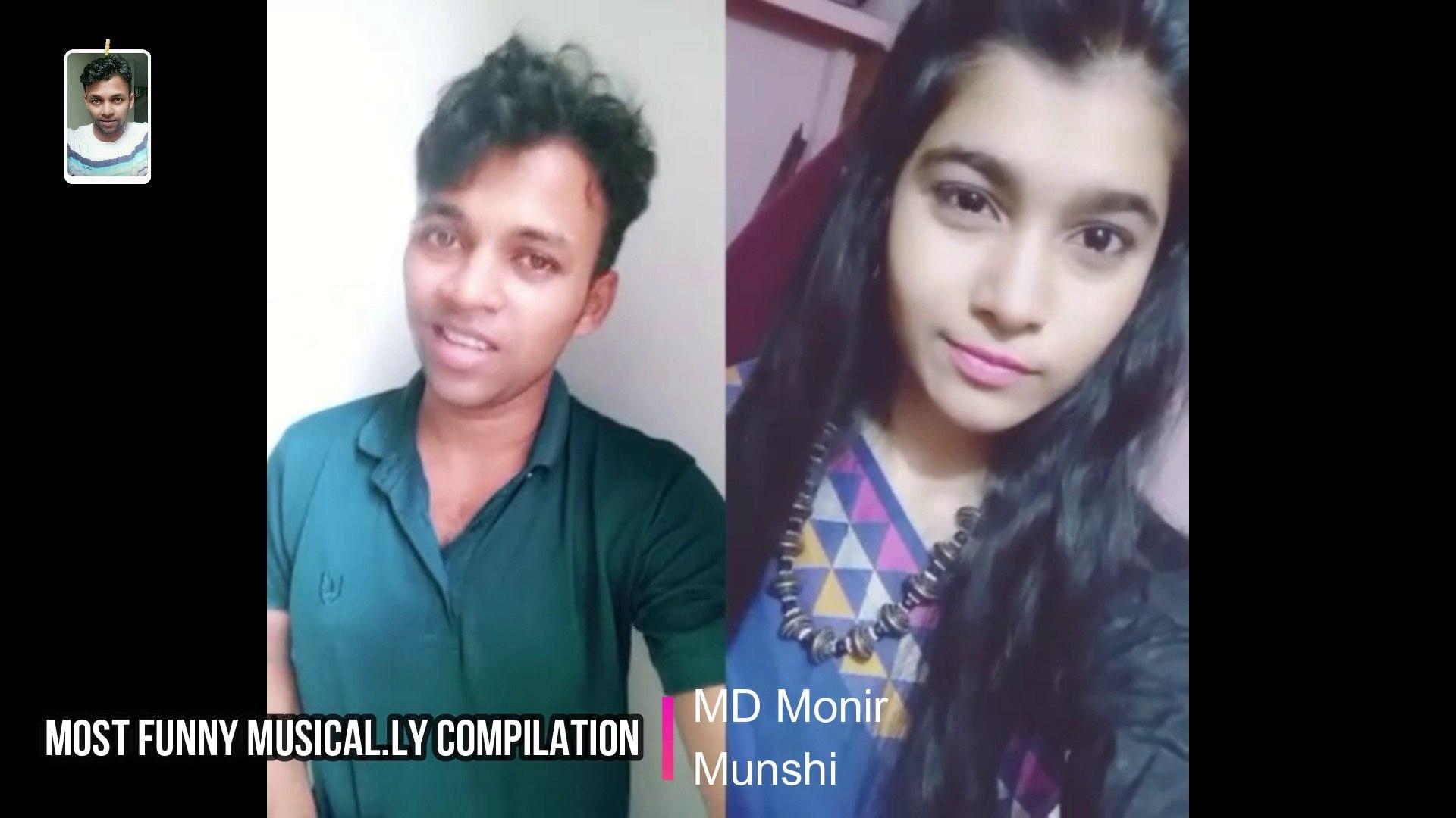 Most Funny Musical.ly Compilation MD Monir Munshi 04 Jul 2018