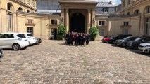 L'Equipe de France des métiers Euroskills reçue par Muriel Pénicaud
