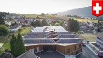Solar-powered school has surplus energy to power 50 homes- TomoNews