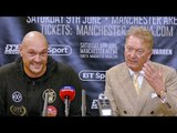 """""""WILDER! JOSHUA! THEY'RE ALL BUMS..!"""" Tyson Fury Post Fight REACTION vs. Sefer Seferi"""