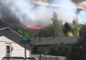 Residents Forced to Evacuate Homes After Grass Fire Sparks in Evanston, Wyoming