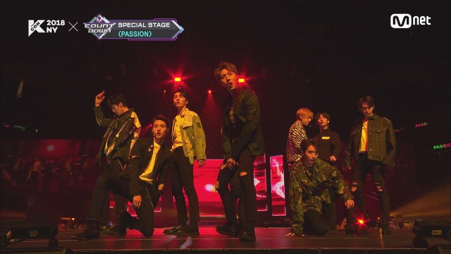 KCON 2018 NY×M COUNTDOWN 펜타곤(PENTAGON) _ Wake Up INTRO