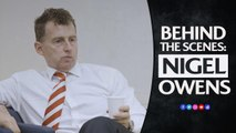 Behind the scenes: A matchday with Nigel Owens