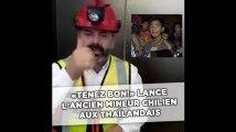 «Tenez bon!» lance l'ancien mineur chilien «Super Mario» aux Thaïlandais piégés dans une grotte