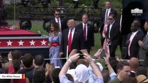 Kimberly Guilfoyle Joins Donald Trump Jr. For July 4 White House Event