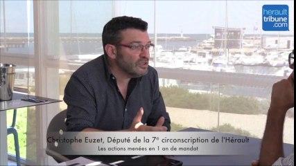 7ème CIRCONSCRIPTION - Interview du Député Christophe EUZET après 1 an de mandat