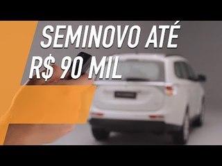 SEMINOVOS: OUTLANDER V6 É OPÇÃO ENTRE SUVS