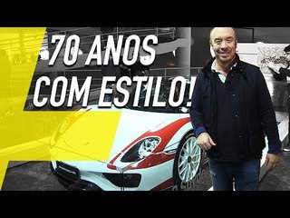 PORSCHE 70 ANOS: 17 CARROS DE TIRAR O FÔLEGO