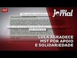 Lula agradece MST por apoio e solidariedade