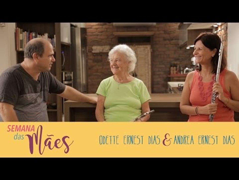 Especial Dia das Mães: Um Café Lá em Casa com Odette Ernest Dias e Andrea Ernest Dias