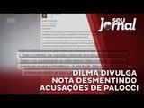 Dilma Rousseff divulga nota desmentindo acusações de Palocci