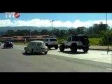 Carros antigos desfilam nas ruas  de Mogi das Cruzes - Rede TVT
