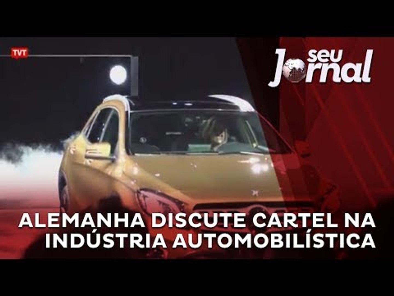 Alemanha discute cartel na indústria automobilística