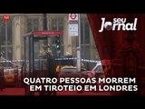 Quatro pessoas morrem em tiroteio perto do Parlamento Britânico, no centro de Londres