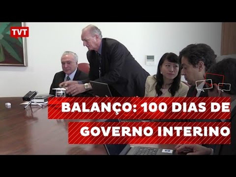 100 dias de governo interino, 100 dias de desmonte