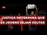 """Juiz solta jovens detidos em São Paulo por participação em ato """"Fora Temer"""""""