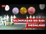 Comitê Rio 2016 apresenta medalhas olímpicas e paralímpicas