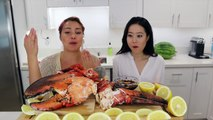 SEAFOOD BOIL MUKBANG!!! (SUPER FUNNY) - video dailymotion