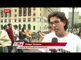 Em atos pelo país, jovens pedem renúncia de Eduardo Cunha