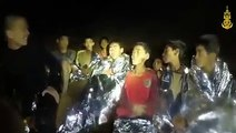 THAI CAVE RESCUE: New video released shows Thai boys in good spirits as officials plan rescue operation. (Video: Thai NavySEAL)