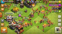 Max Valkyrie (220) VS Max Canon Max X Bow  Max Inferno Tower  Max Wizard Tower  Clash of Clan Fight